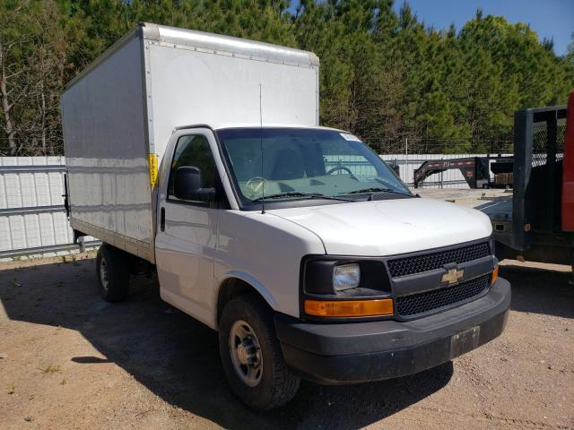 Salvage cars for sale from Copart Charles City, VA: 2014 Chevrolet Express G3