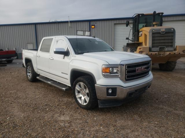 Salvage cars for sale from Copart Mercedes, TX: 2015 GMC Sierra K15