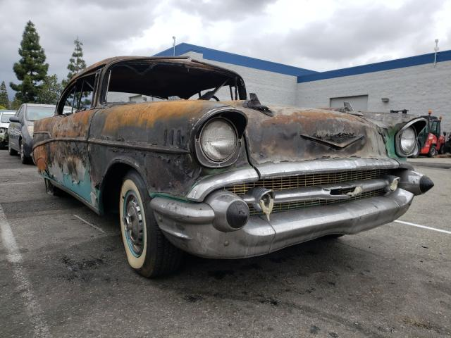 Chevrolet BEL AIR salvage cars for sale: 1957 Chevrolet BEL AIR