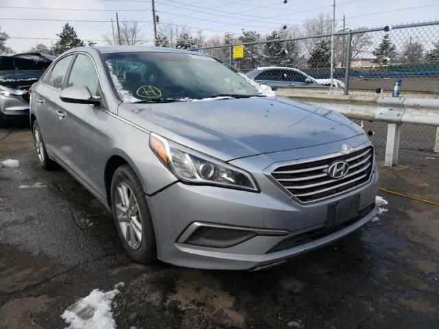 Hyundai salvage cars for sale: 2017 Hyundai Sonata SE