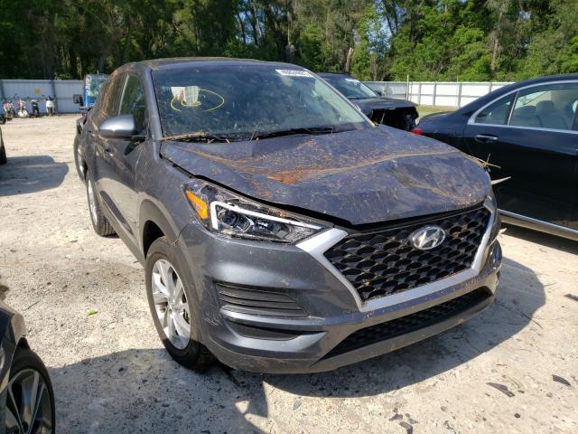 Salvage cars for sale from Copart Ocala, FL: 2019 Hyundai Tucson SE