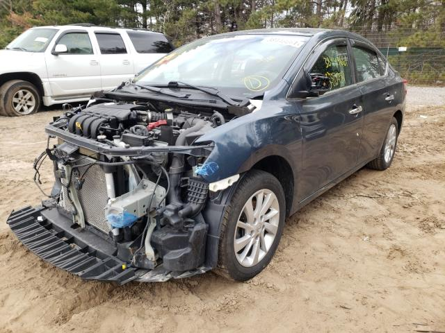 2015 NISSAN SENTRA S - Left Front View