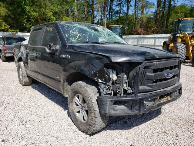 Salvage cars for sale from Copart Knightdale, NC: 2017 Ford F150 Super