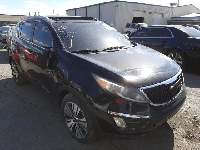 KIA Vehiculos salvage en venta: 2015 KIA Sportage E