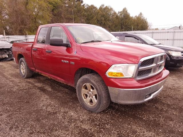 Salvage cars for sale from Copart Ontario Auction, ON: 2009 Dodge RAM 1500