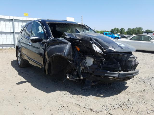 Acura salvage cars for sale: 2009 Acura MDX Sport