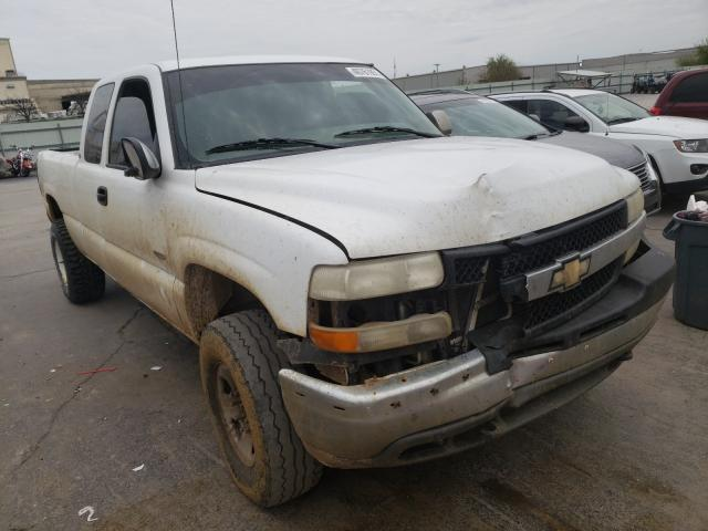Salvage cars for sale from Copart Tulsa, OK: 2002 Chevrolet Silverado