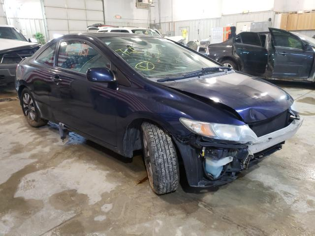 Salvage cars for sale from Copart Columbia, MO: 2009 Honda Civic EX