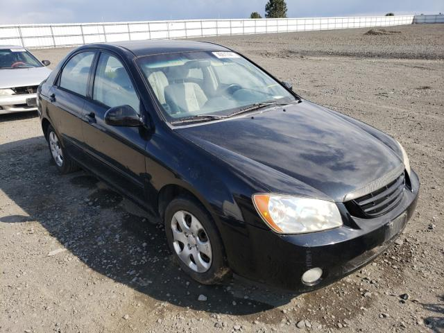 Salvage cars for sale from Copart Airway Heights, WA: 2004 KIA Spectra LX