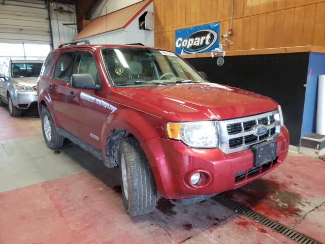 Salvage cars for sale from Copart Angola, NY: 2008 Ford Escape XLT