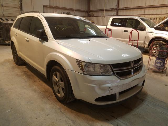 Salvage cars for sale from Copart Abilene, TX: 2015 Dodge Journey SE