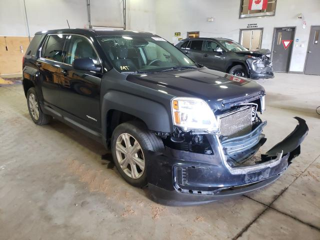 Salvage cars for sale from Copart Atlantic Canada Auction, NB: 2017 GMC Terrain SL