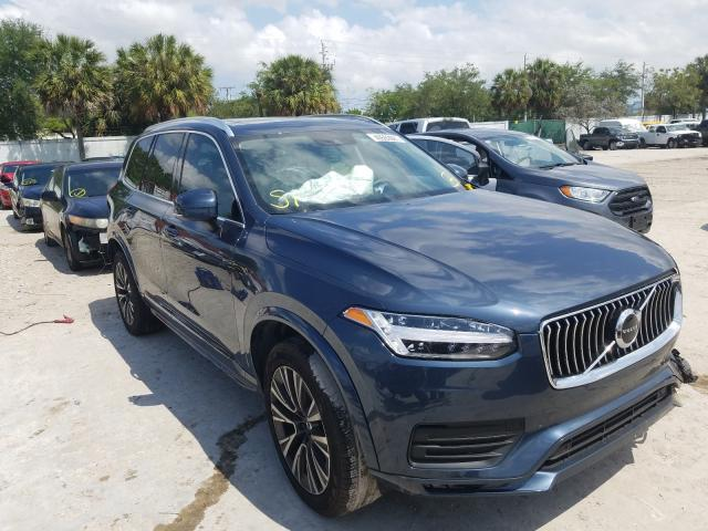 Salvage cars for sale at West Palm Beach, FL auction: 2020 Volvo XC90 T6 MO