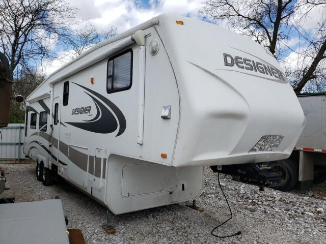 Jayco Designer salvage cars for sale: 2010 Jayco Designer