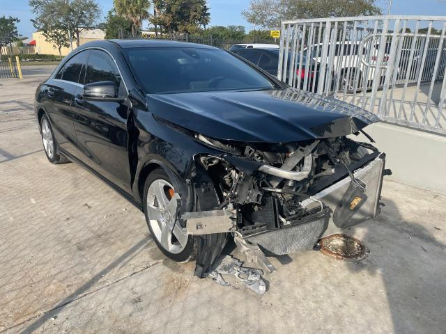 Salvage cars for sale from Copart Opa Locka, FL: 2016 Mercedes-Benz CLA 250