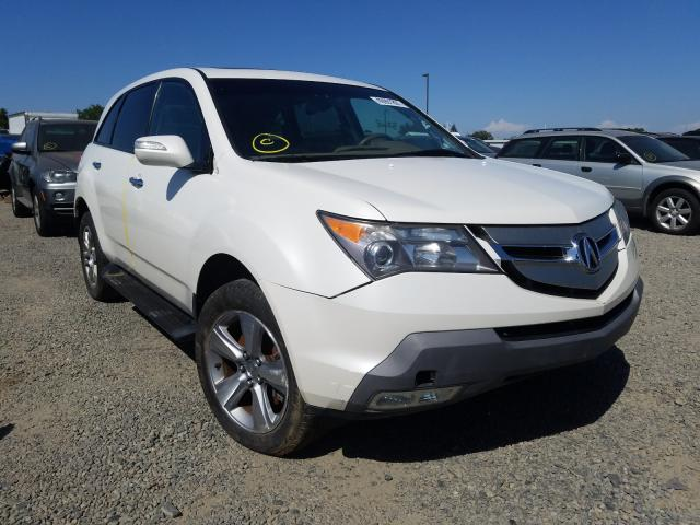 Acura salvage cars for sale: 2008 Acura MDX