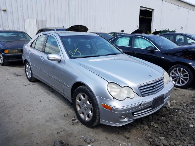 Salvage cars for sale from Copart Windsor, NJ: 2005 Mercedes-Benz C 240 4matic