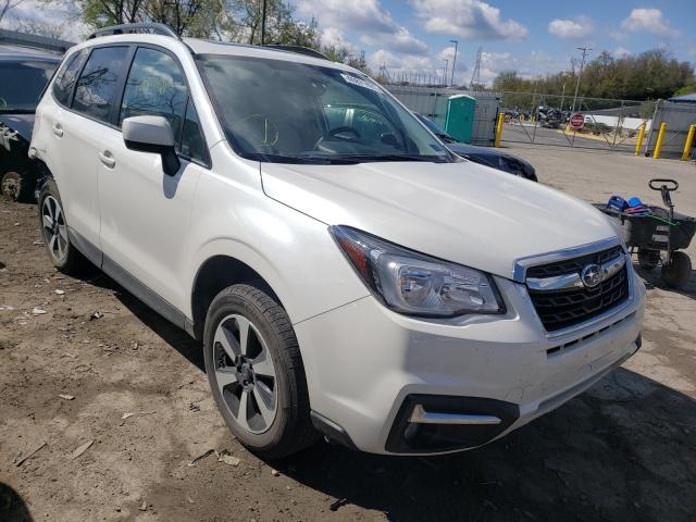 Salvage cars for sale from Copart West Mifflin, PA: 2018 Subaru Forester 2