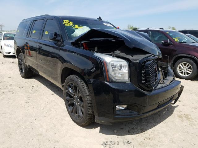 Salvage cars for sale from Copart Kansas City, KS: 2015 GMC Yukon XL D
