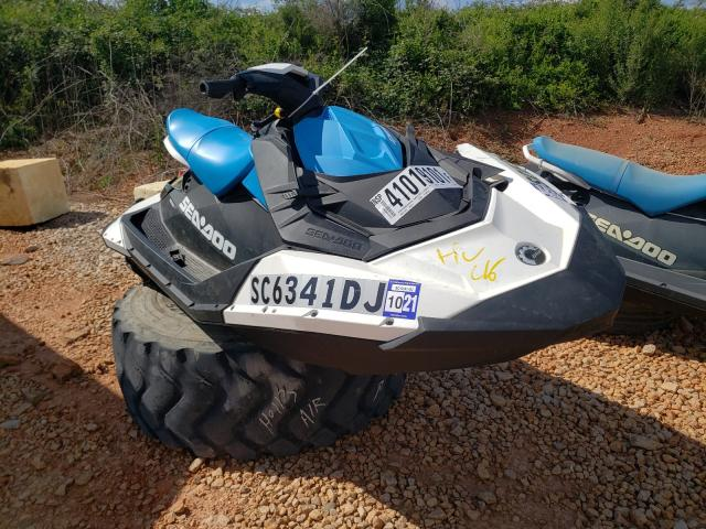 Salvage cars for sale from Copart China Grove, NC: 2018 Seadoo Spark