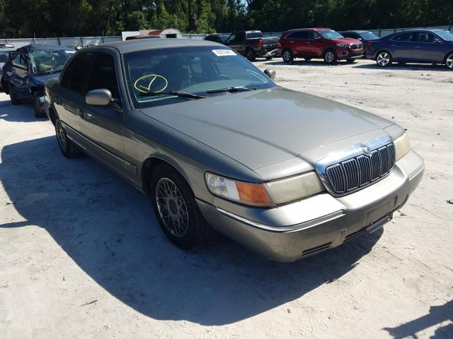 Salvage cars for sale from Copart Ocala, FL: 2002 Mercury Grand Marq