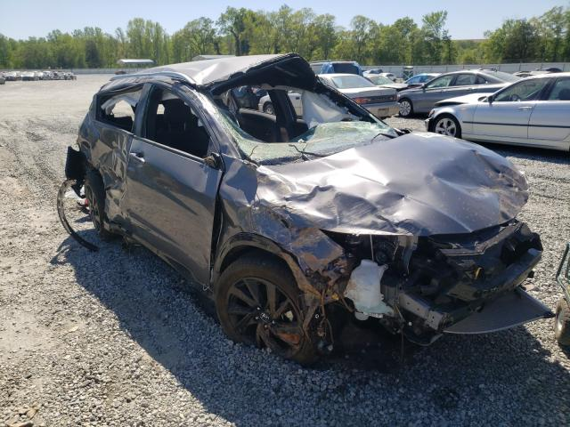 Salvage cars for sale from Copart Spartanburg, SC: 2021 Honda HR-V Sport