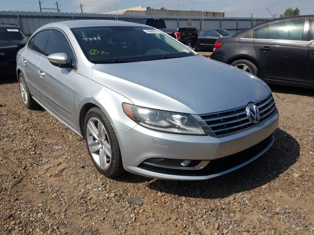 Salvage cars for sale from Copart Mercedes, TX: 2013 Volkswagen CC Sport