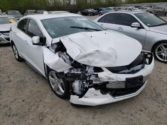 Salvage cars for sale from Copart Arlington, WA: 2017 Chevrolet Volt LT