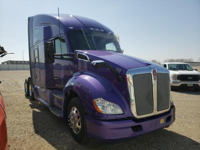 Salvage cars for sale from Copart Bismarck, ND: 2019 Kenworth Construction