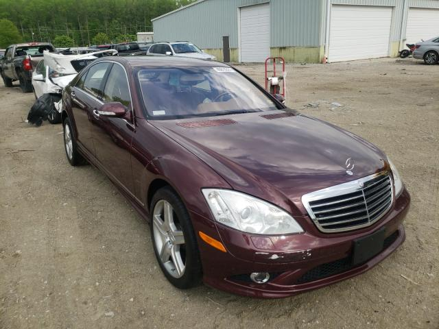 Salvage cars for sale from Copart Hampton, VA: 2008 Mercedes-Benz S 550