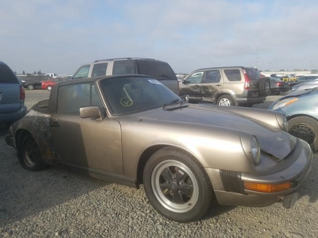 Porsche 911 salvage cars for sale: 1982 Porsche 911