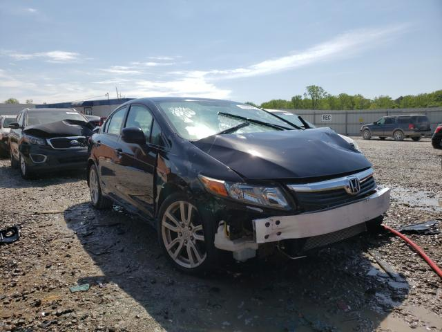 Salvage cars for sale from Copart Hueytown, AL: 2012 Honda Civic EX