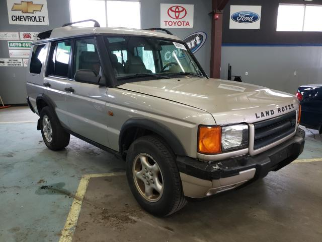 Land Rover Discovery salvage cars for sale: 2000 Land Rover Discovery