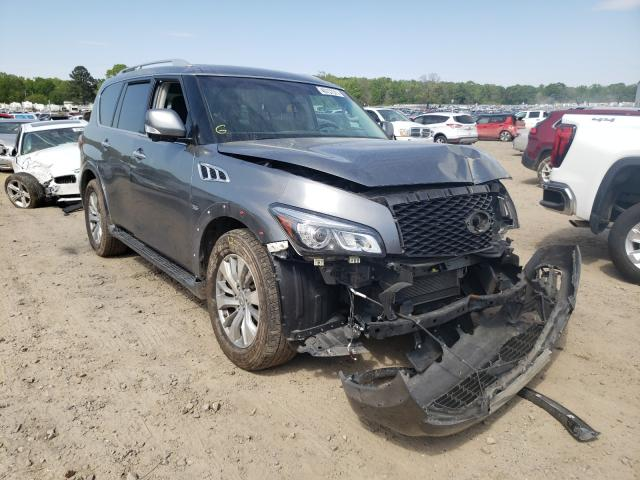 Salvage cars for sale from Copart Conway, AR: 2017 Infiniti QX80 Base