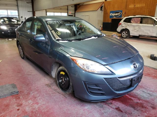 Salvage cars for sale from Copart Angola, NY: 2010 Mazda 3 I