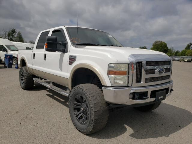 Salvage cars for sale from Copart Portland, OR: 2008 Ford F250 Super