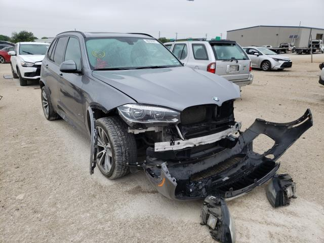 Salvage cars for sale from Copart San Antonio, TX: 2015 BMW X5 SDRIVE3