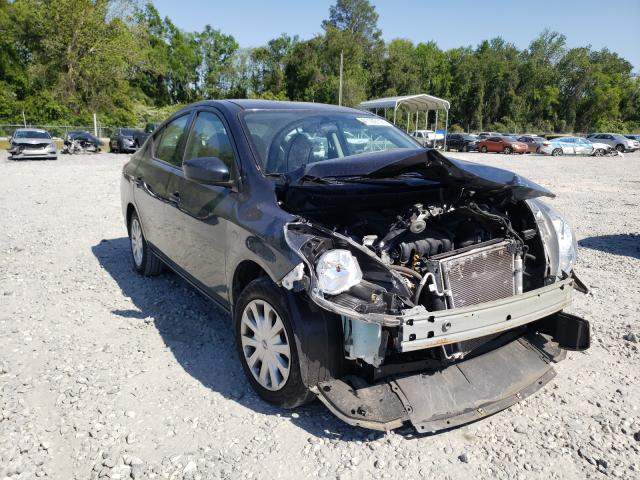Salvage cars for sale from Copart Tifton, GA: 2017 Nissan Versa S