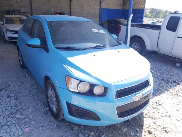 Salvage cars for sale from Copart Cartersville, GA: 2014 Chevrolet Sonic LT