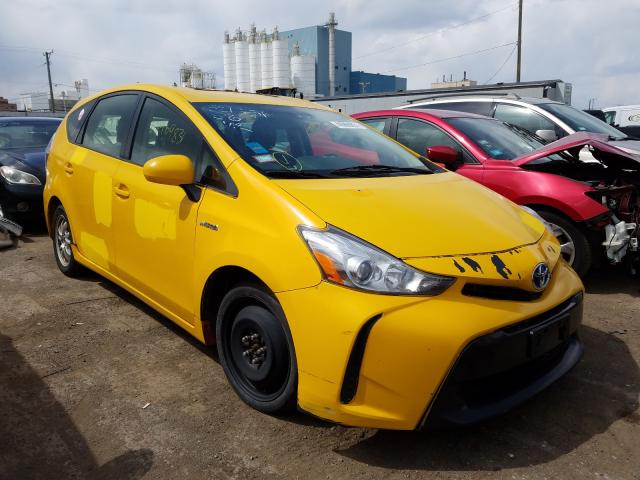 Salvage cars for sale from Copart Chicago Heights, IL: 2015 Toyota Prius V
