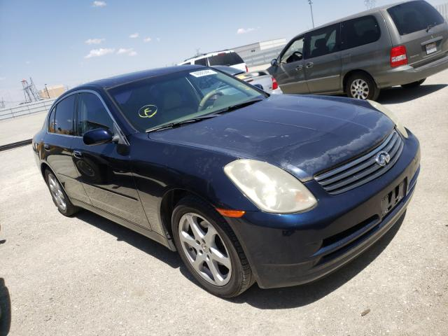 Salvage cars for sale from Copart Adelanto, CA: 2004 Infiniti G35