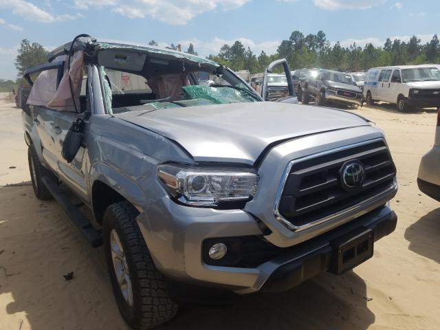 Salvage cars for sale from Copart Gaston, SC: 2020 Toyota Tacoma DOU