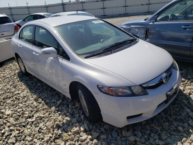 Salvage cars for sale from Copart Appleton, WI: 2010 Honda Civic Hybrid
