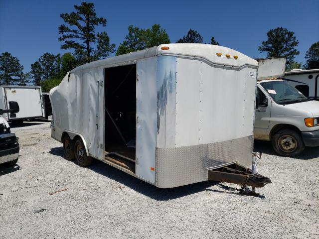 Haulmark salvage cars for sale: 2006 Haulmark Trailer