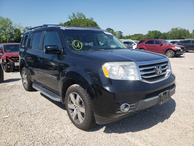 Salvage cars for sale from Copart Theodore, AL: 2013 Honda Pilot Touring
