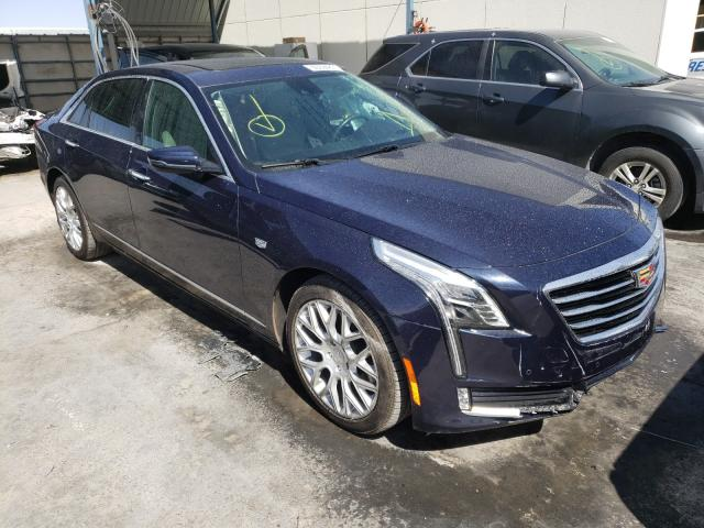 Salvage cars for sale from Copart Anthony, TX: 2017 Cadillac CT6 Premium