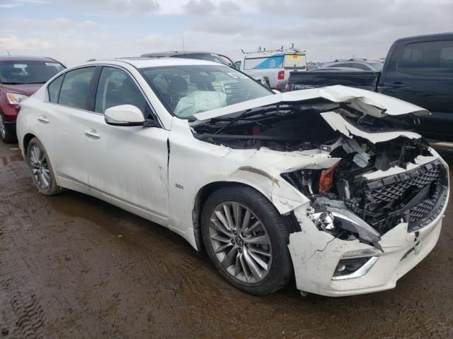 Vehiculos salvage en venta de Copart Brighton, CO: 2020 Infiniti Q50 Pure