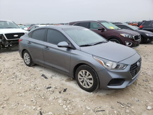 Salvage cars for sale from Copart New Braunfels, TX: 2018 Hyundai Accent SE
