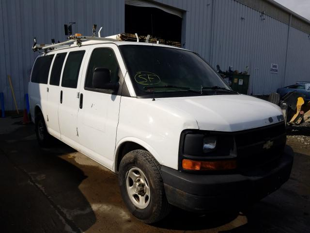 Salvage cars for sale from Copart Windsor, NJ: 2008 Chevrolet Express G1