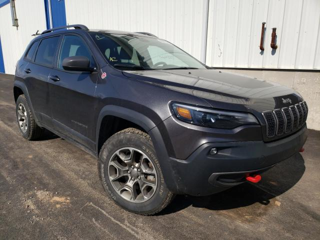 Salvage cars for sale from Copart Moncton, NB: 2020 Jeep Cherokee T